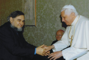 Pope Benedict Paul Fiddes300