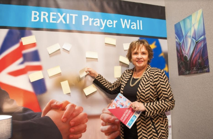 Brexit prayer wall