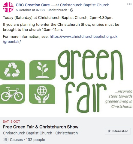 Christchurch Green fair